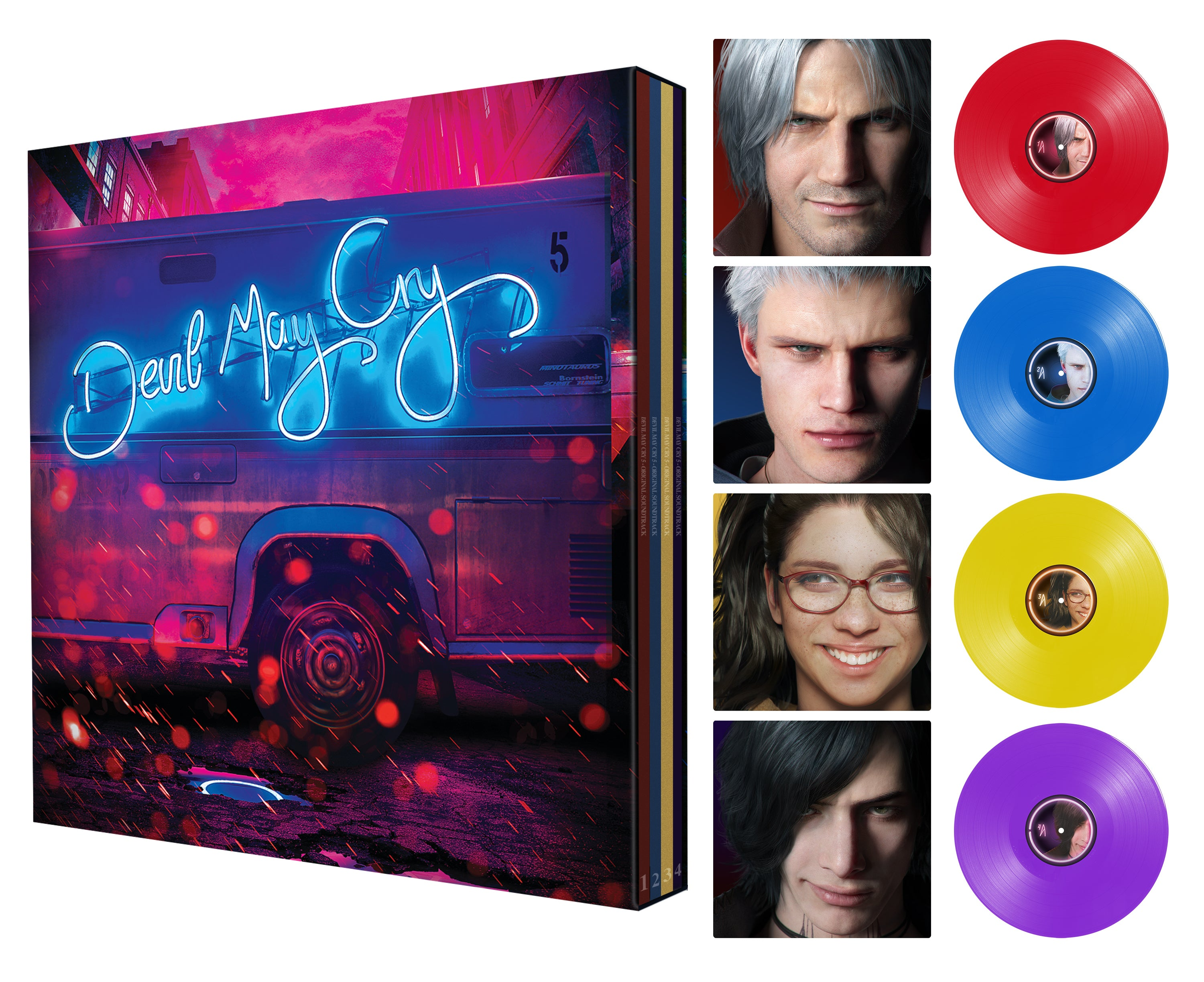 Devil May Cry 5 DOUBLE VINYL | 4x LP BOX SET | 5X CD BOX SET