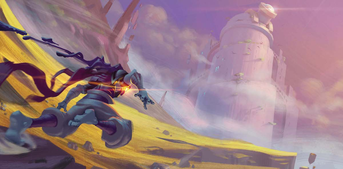 Dead Cells gatefold by Thomas 'Carduus' Vasseur