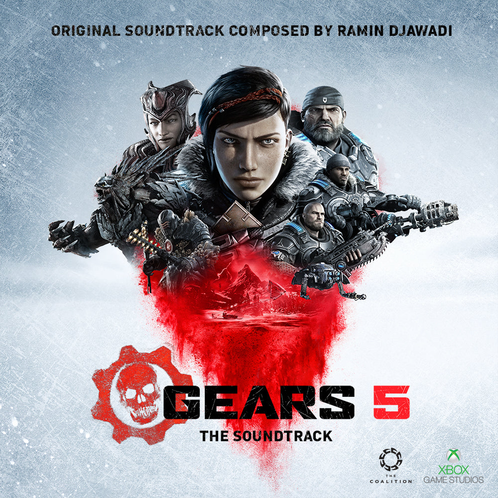 Gears 5 soundtrack artwork