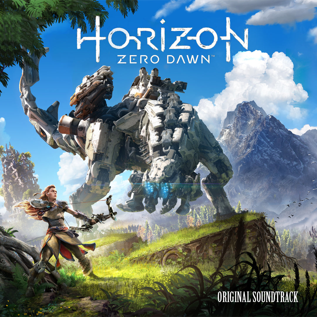 The cover for Horizon Zero Dawn's original soundtrack