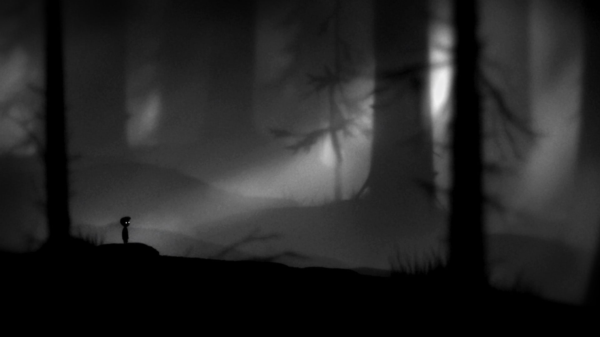 A shot from Limbo by Playdead