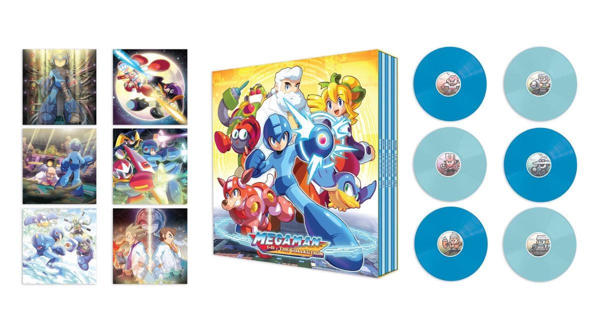 Mega Man 1-11: The Collection six-disc vinyl is available at www.lacedrecords.com