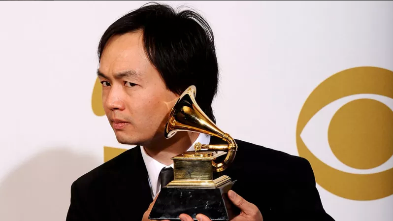 Christopher Tin winning a GRAMMY for Baba Yetu