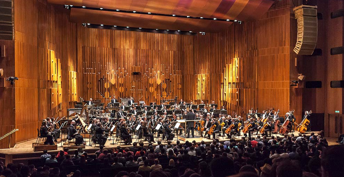 The London Symphony Orchestra perform Final Symphony at the Barbican, London, in 2013.