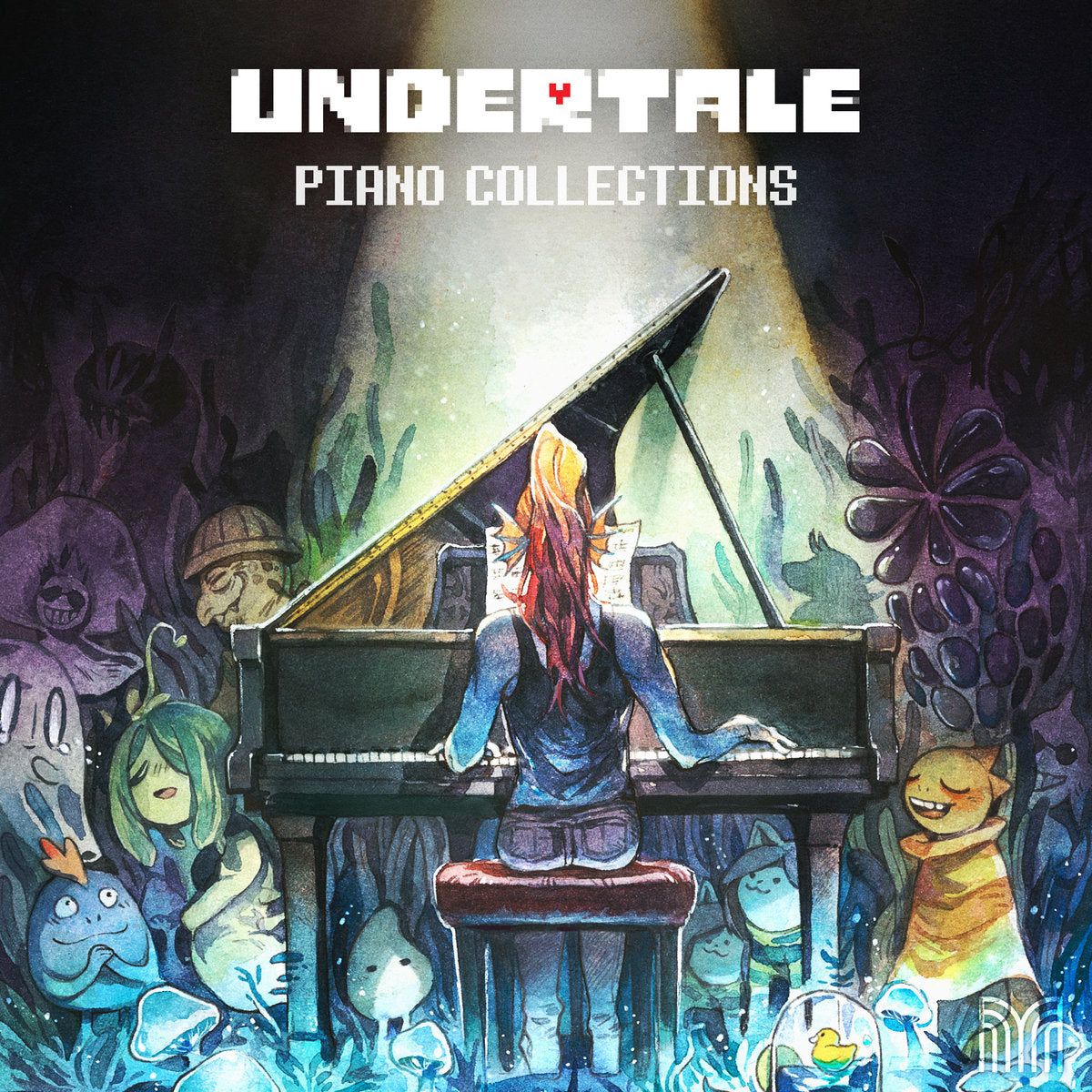 UNDERTALE Piano Collections artwork by wraith615
