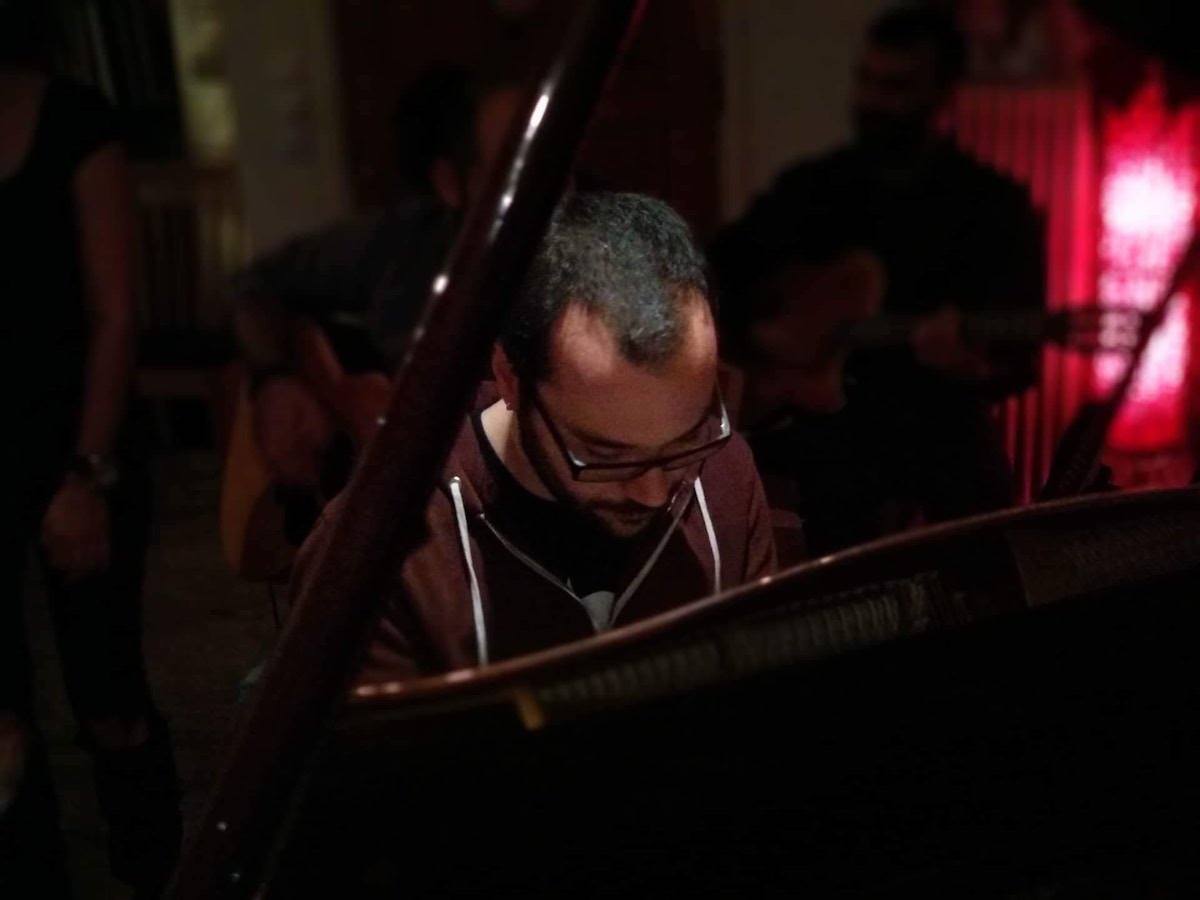 Composer Chris Christodoulou