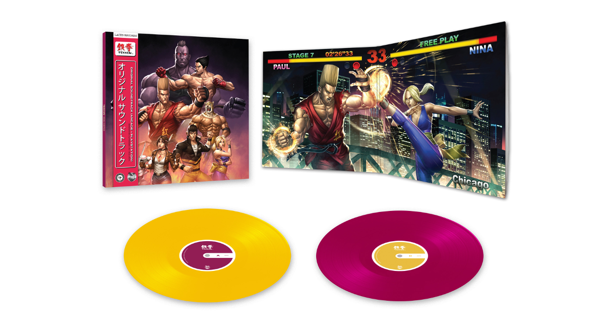 TEKKEN (Original Soundtrack) vinyl by Laced Records