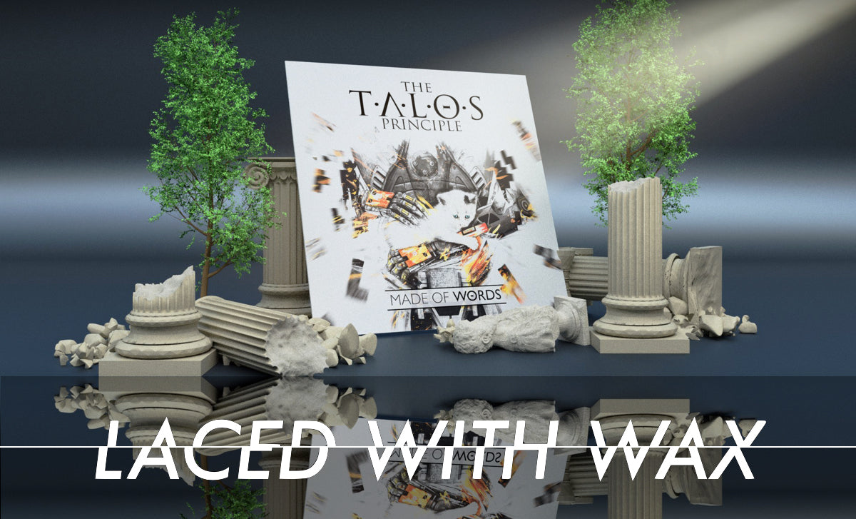 LACED WITH WAX On the record: Pondering the art of The Talos Principle OST vinyl