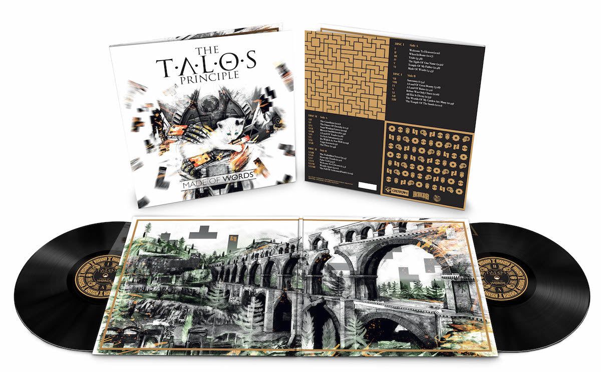 The Talos Principle soundtrack is available on double LP vinyl from LacedRecords.com