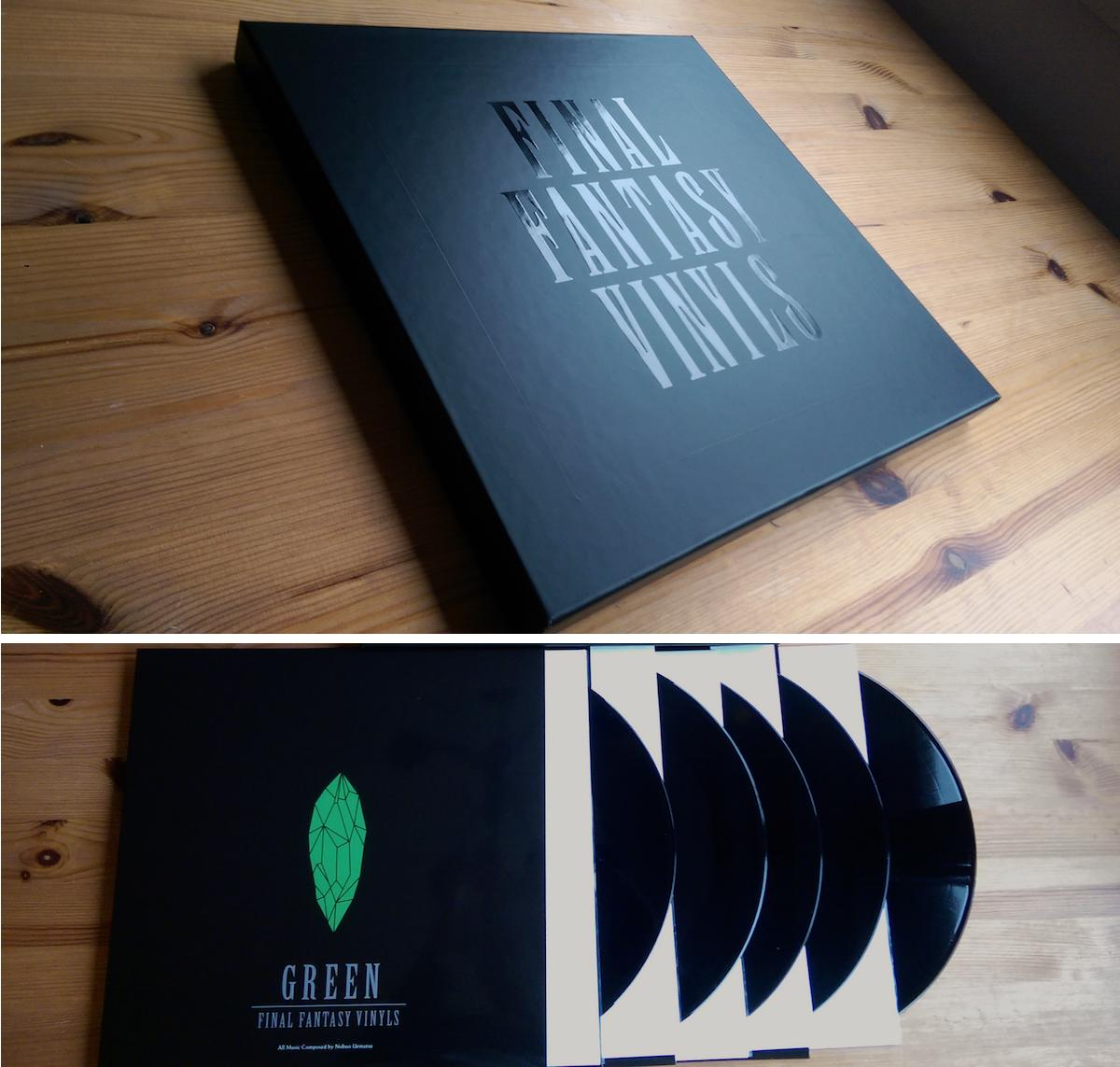 Final Fantasy Vinyls 5xLP box set