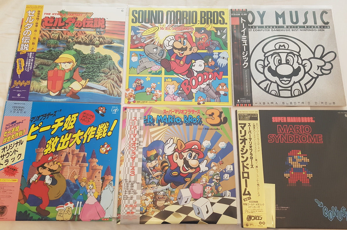 Japanese version of Super Mario Bros. 3