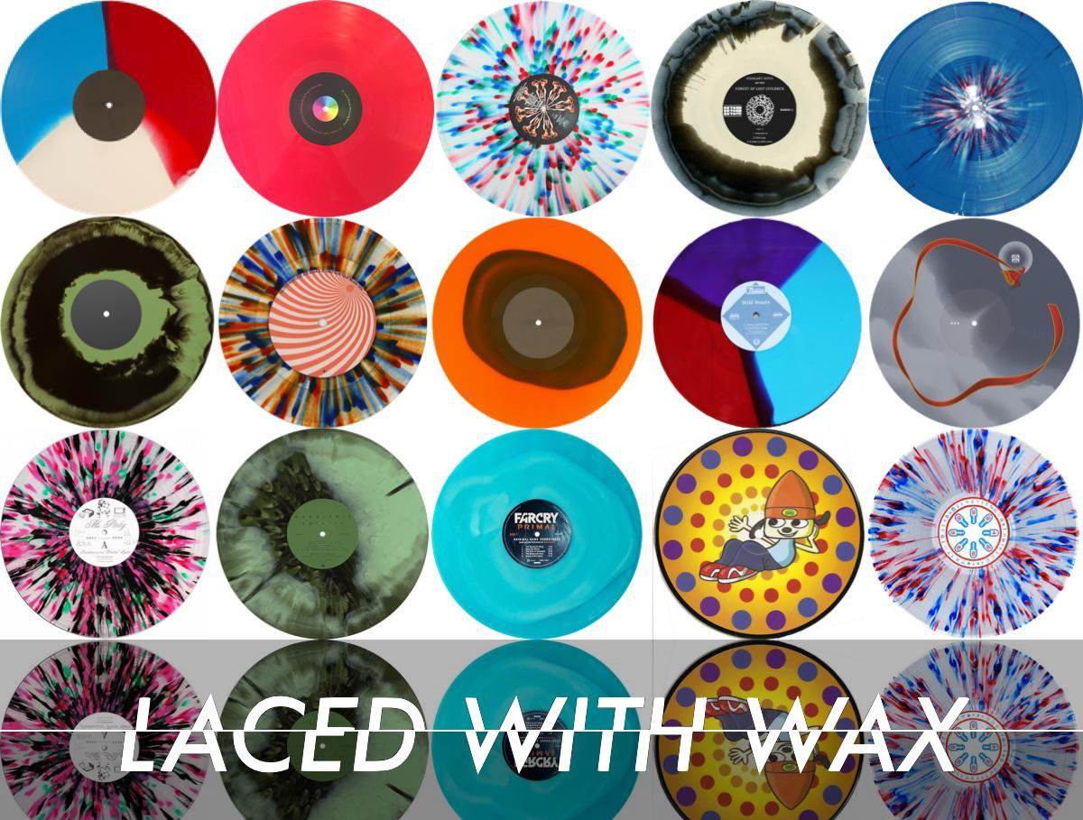 LACED WITH WAX Why we ❤️ game music: Scratching the vinyl itch