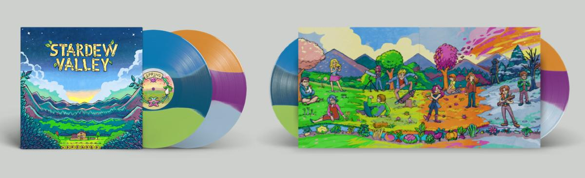Stardew Valley vinyl available from Gamersedition