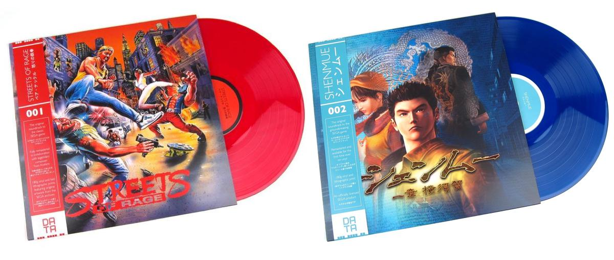 Streets of Rage and Shenmue vinyl