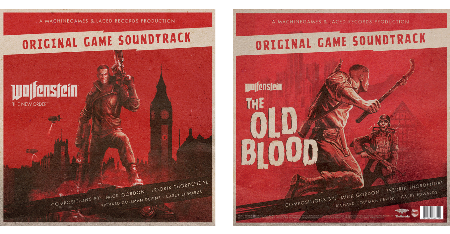 Wolfenstein: The New Order | The Old Blood DELUXE DOUBLE VINYL