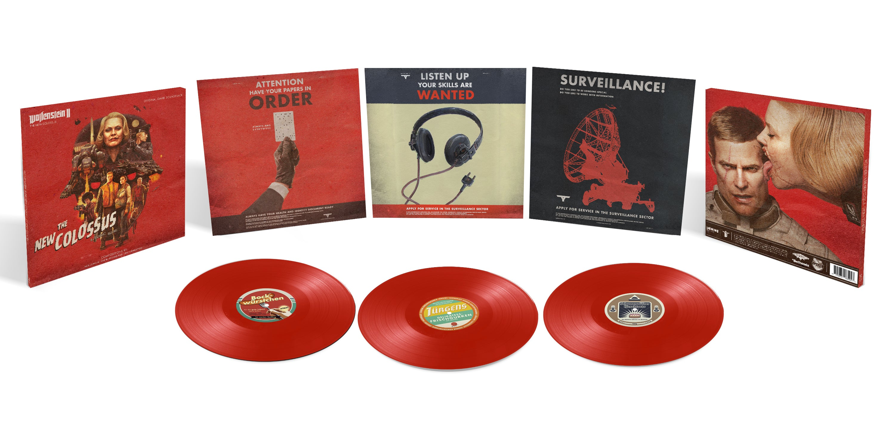 Wolfenstein II: The New Colossus DELUXE TRIPLE VINYL