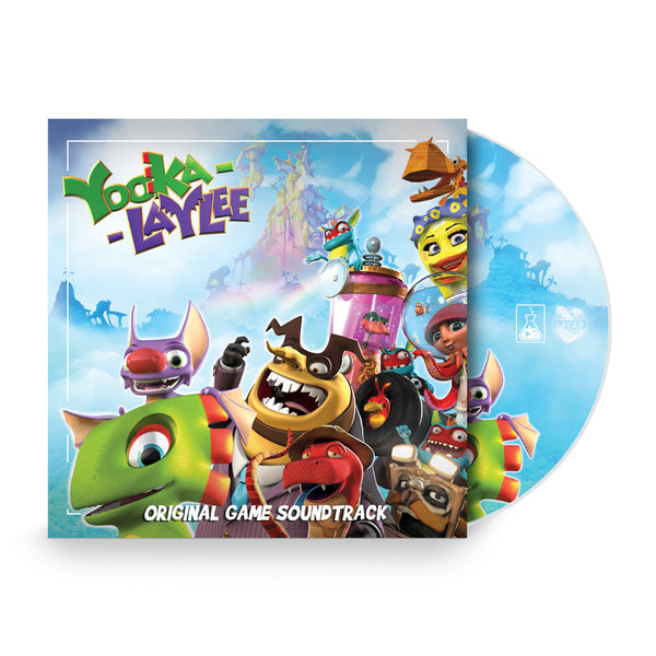 Yooka-Laylee: Deluxe Gatefold CD & Digital Download
