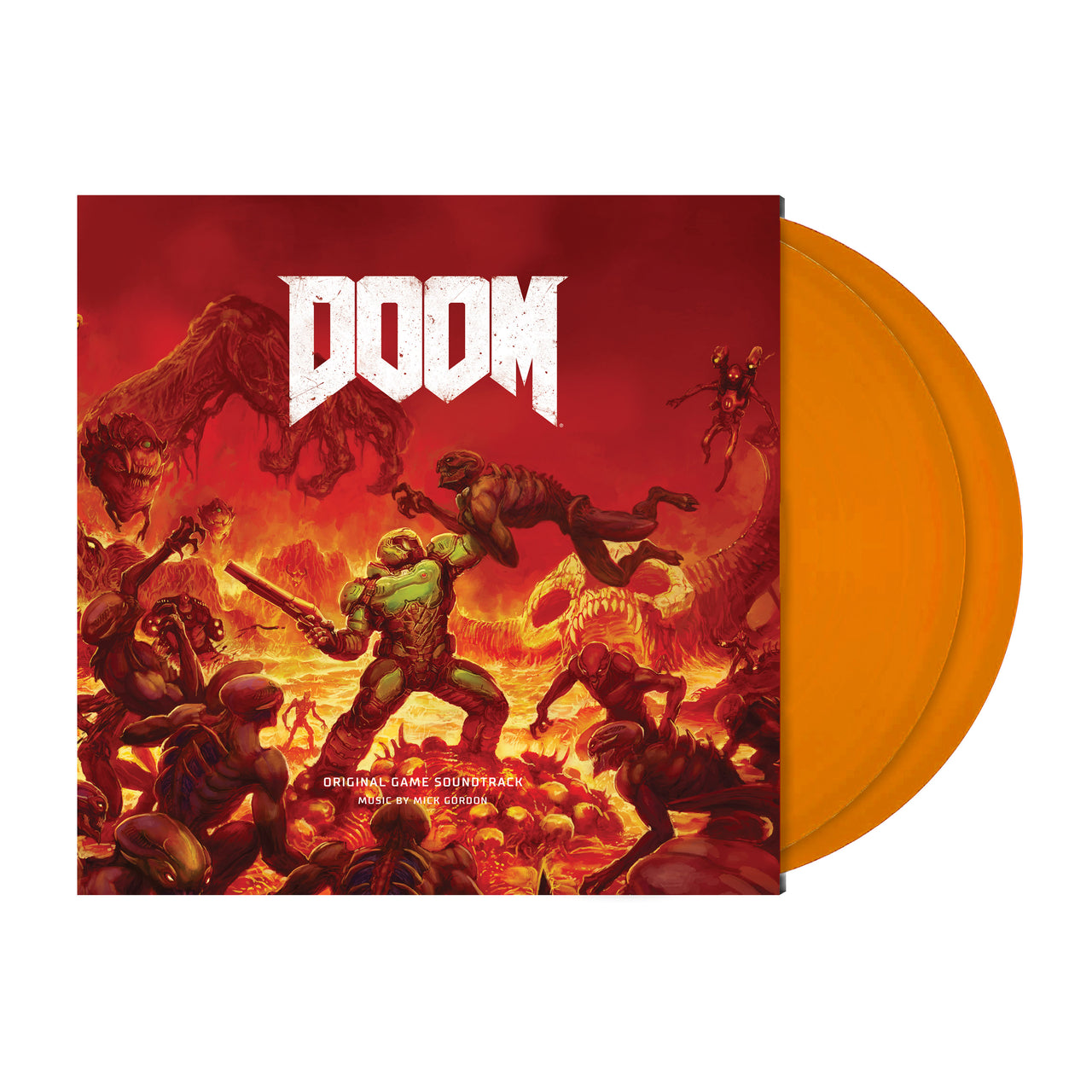 DOOM (Deluxe Double Orange Vinyl)