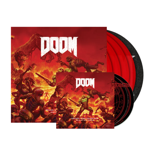 DOOM (Special Limited Edition X4 Vinyl Boxset / Slipmat / Double CD Bundle)