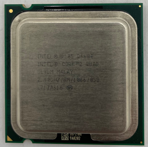 Intel Core 2 Quad Q6600 Desktop CPU Processor- SL9UM