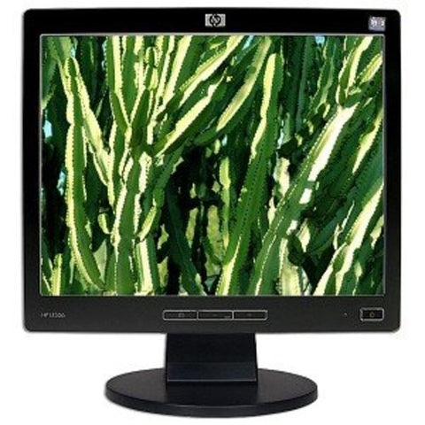 "15"" HP L1506 LCD Monitor (Black)"