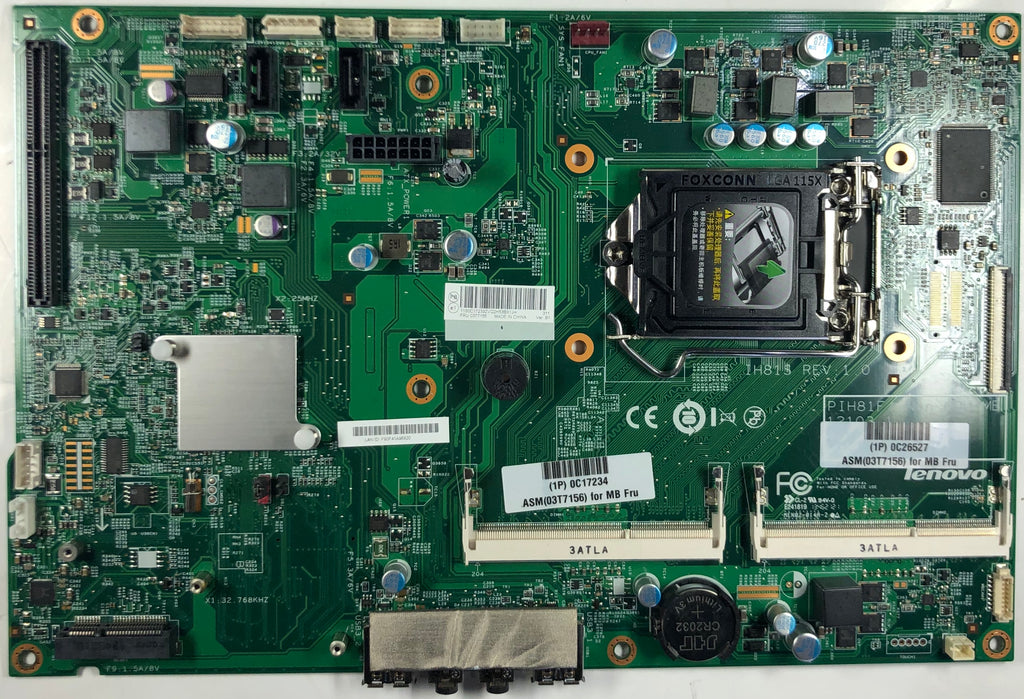 Lenovo ThinkCentre M73z All-In-One 48 3KS12 011 Motherboard- 03T7155