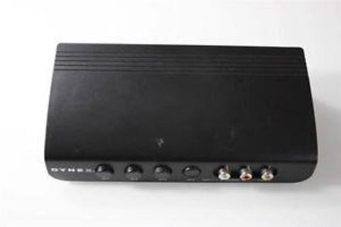Dynex S-Video Audio Video Selector Switch- DX-VS201A