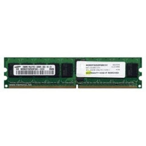 256MB PC2-3200 DDR2-400 1Rx8 Registered ECC 240-pin DIMM (p/n BTL) by Gigaram