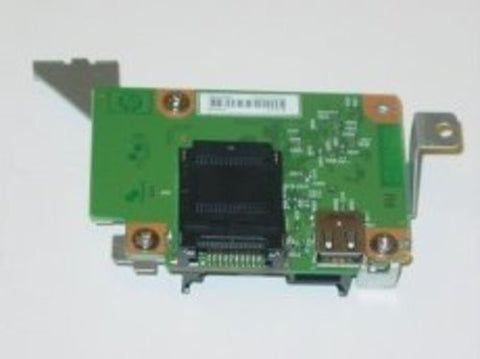 HP LaserJet CP1518ni Printer Photo Media Card Reader Slot Board- CB434-60001