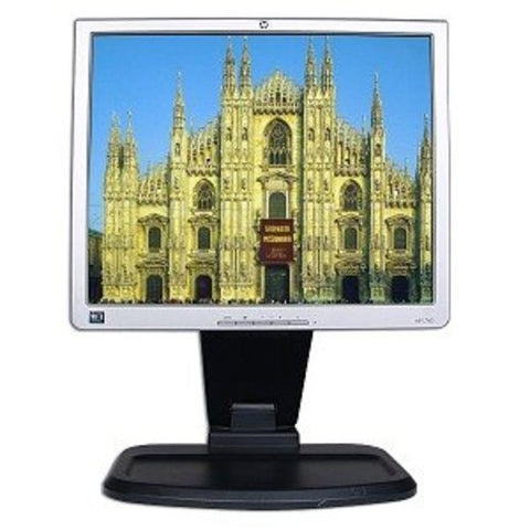 "17"" HP 1740 DVI Swivel/Pivot LCD Monitor w/USB Hub - Refurbished"