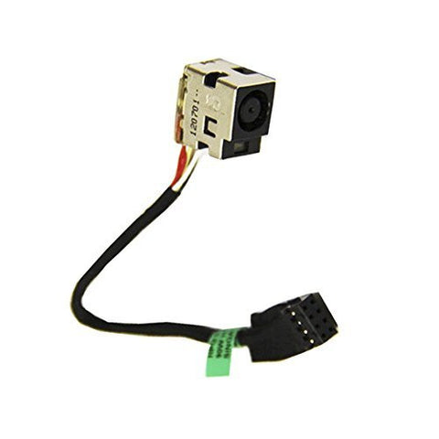 Ac Dc-in Power Jack Harness Connector Socket w/Cable For HP Pavilion 2000 2000-2 661680-TD1 g6-2002xx g6-2010nr g6-2040ca