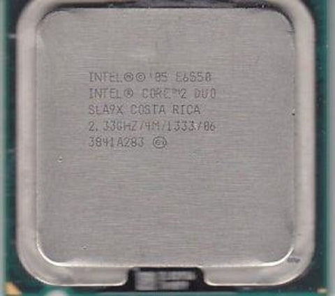 Intel Core 2 Duo Processor E6550 2.33GHz 1333MHz 4MB sla9x
