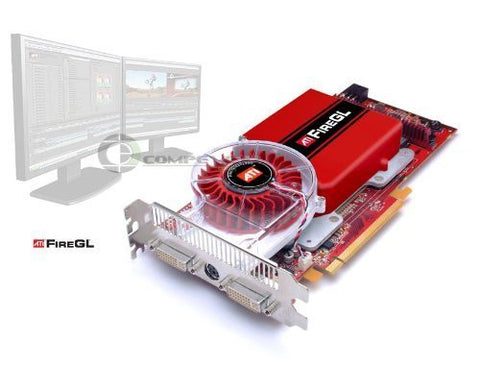 256MB ATI Fire GL V7200 GDDR3 2 DVI PCI-Express UH651
