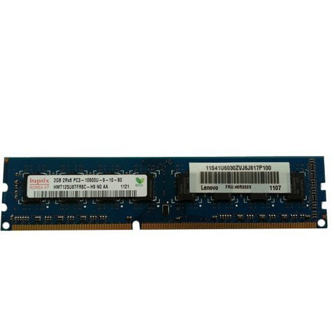 Hynix 2gb Ddr3 Pc3-10600 1333mhz Non-Ecc Unbuffered Cl9 1.5v Dual Ran