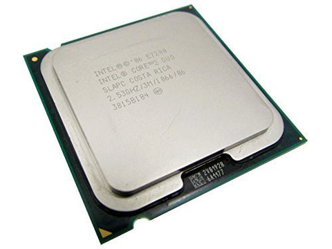 Intel Core 2 Duo E7200 SLAPC 2x2.53GHz/3MB/1066FSB Sockel/Socket LGA775 Dual CPU