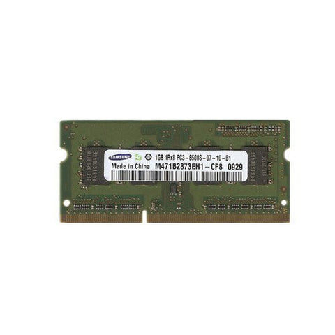 Samsung 1GB DDR3 Memory SO-DIMM 204pin PC3-8500S 1066MHz M471B2873EH1-CF8