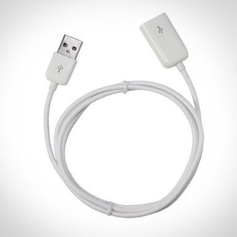 USB Extension Cable (3.5ft Long) Male To Female Cable for iPhone or iPod Cable or Ideal for Any Device That Uses USB- Charges and Syncs Fast Speeds Using - XTG Technology
