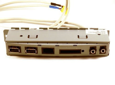 HP 505070-001 Front I/O and memory card reader assembly - Contains USB ports, headphone jack, and microphone jack