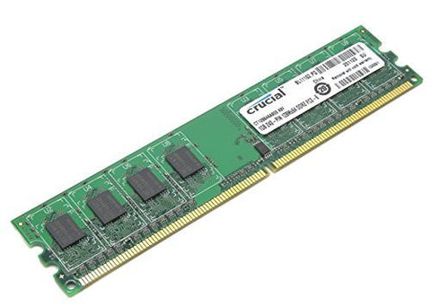 Crucial 1GB 240-Pin PC2-6400 DDR2 800 Desktop Memory Module CT12864AA800.K8F