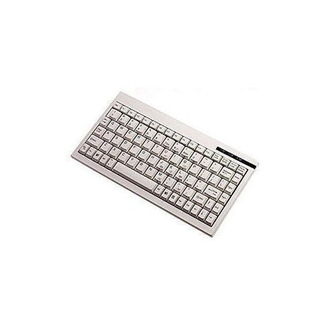 Adseeo Mini White PS/2 Keyboard Compatible with Axis 7000 Scan Server (ACK-595)