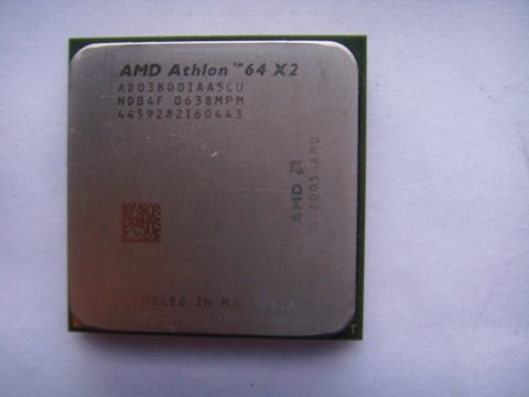 AMD ADO3800IAA5CU Athlon 64 X2 3800+ 2.0GHz Socket AM2 CPU Processor