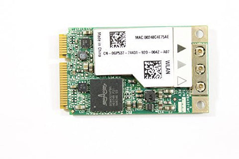 Dell Mini PCI Express GP537 WLAN WiFi 802.11n Wireless Card XPS A2420