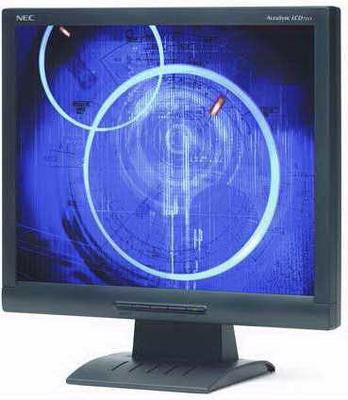 "17"" NEC AccuSync LCD72VX DVI LCD Monitor Black- Refurbished"