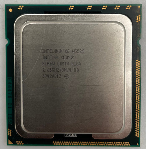 Intel Xeon W3520 Server CPU Processor- SLBEW