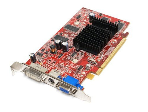 Dell JH471 ATI Radeon X600 256MB DVI VGA S-Video DDR Full Profile PC PCI-E PCI-Express x16 Video Graphics Card