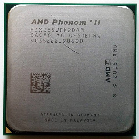 AMD Phenom II X2 B55 3.0GHz Dual-core HDXB55WFK2DGM CPU Processor Socket AM2+ AM3 938-PIN