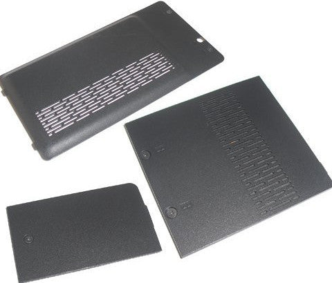 HP 417073-001 Plastics cover/door kit - contains the memory door, hard drive access cover, mini PCI access