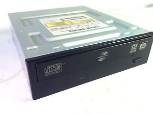 HP 5189-2194 DVD-RW DL 2MB LightScribe SATA Black Optical Disk Drive DH-16A6L-C