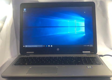 HP ProBook 650 G2 Laptop- 500GB HDD, 8GB RAM, Intel i5-6200U CPU, Windows 10 Pro