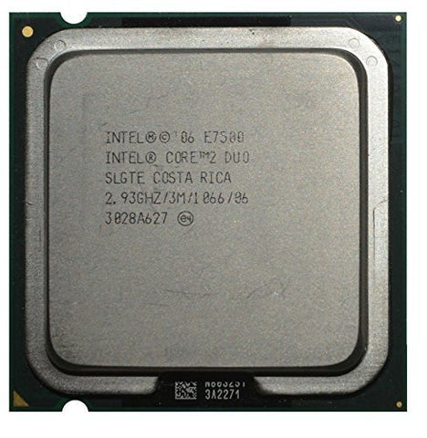 Intel Core 2 Duo E7500 2.93GHz 3MB CPU Processor LGA775 SLB9Z SLGTE